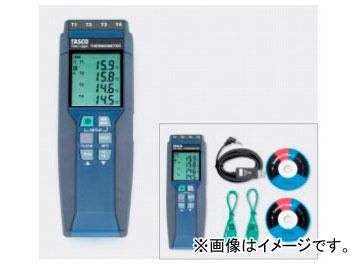 送料無料! タスコジャパン 4chデジタル温度計(ミニオメガプラグ) TA410WC