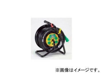 タスコジャパン コードリール(漏電遮断器・アース付) TA649NB