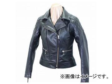 2輪 カドヤ/KADOYA K'S LEATHER KL-PTD(ソフトステア/ダブルライダース/レディース) No.1171 ブラック サイズ:XS,S,M