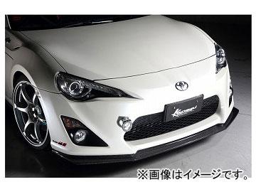 Kansaiサービス カーボンフロントリップ KAT604 トヨタ 86 ZN6 2012年04月~