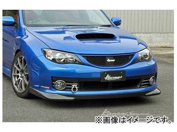 Kansaiサービス カーボンフロントリップ KAF041 スバル インプレッサ GRB 2007年10月~2010年06月