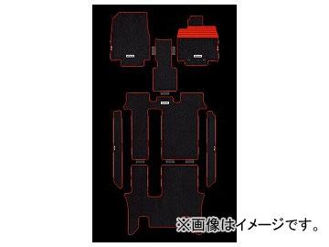 無限 スポーツマット ブラック×レッド タイプ:2列目キャプテンシート車,2列目6:4分割ベンチシート車 ホンダ ステップワゴン