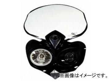 2輪 ラフ&ロード ACERBIS サイクロップヘッドライト ブラック AC-30-02BK
