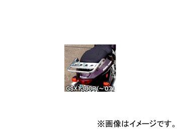2輪 ラフ&ロード RALLY591 スーパーライトキャリア アルミバフ仕上げ RY591S02 スズキ GSX1300Rハヤブサ ~2007年