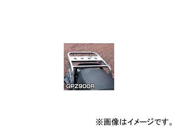 2輪 ラフ&ロード RALLY591 スーパーライトキャリア アルミバフ仕上げ RY591K03 カワサキ GPZ900R/750R