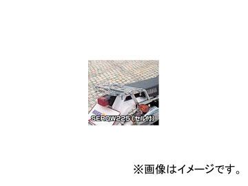 2輪 ラフ&ロード RALLY591 スーパーライトキャリア アルミバフ仕上げ RY59105 ヤマハ セロー225(セル付)