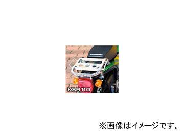 2輪 ラフ&ロード RALLY591 スーパーライトキャリア アルミバフ仕上げ RY59121 カワサキ KSR110 ~2008年