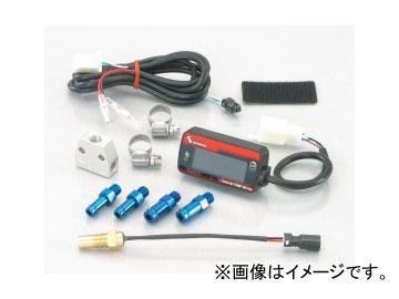 2輪 キタコ LCDデジタル温度計タイプ3 フィッティング付/オイルクーラーホース中継タイプ 752-6000200 JAN:4990852073818