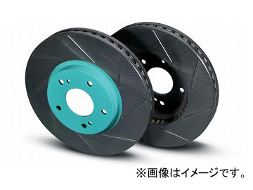 プロジェクトミュー SCR ブレーキローター 塗装済タイプ フロント スバル WRX STI