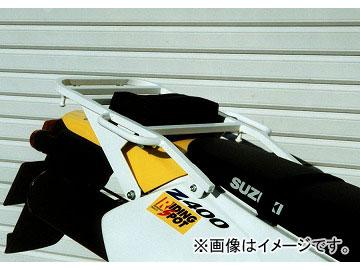 2輪 ライディングスポット リアキャリア 品番:P003-9974 ホワイト スズキ DR-Z400S JAN:4520616785987