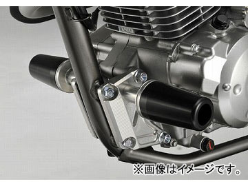 2輪 アグラス リアスライダー フレーム 品番:P041-3851 ブラック カワサキ ディートラッカー125 JAN:4548664130290