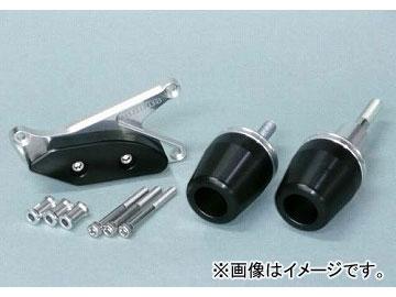 2輪 アグラス リアスライダー 3点セット ジェネA 品番:P035-2197 ブラック カワサキ ZX-10R 2008年~2009年 JAN:4547567807902