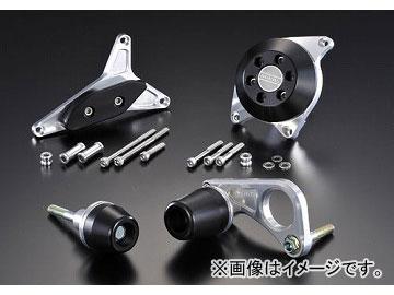 2輪 アグラス リアスライダー 4点セット 品番:P040-4846 ブラック スズキ GSX-R750 2008年~2009年 JAN:4548664072323