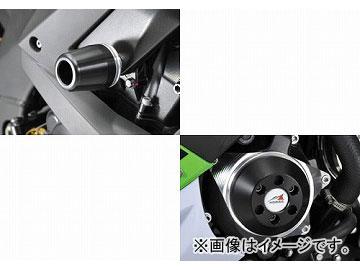 2輪 アグラス リアスライダー 3点セット C スタータ 品番:P043-9124 ホワイト カワサキ ZX-10R 2010年 JAN:4548664255481
