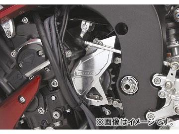 2輪 アグラス フロント.スプロケットカバー 品番:P011-8131 シルバー ヤマハ YZF-R1 2004年~2008年 JAN:4547424347374