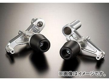 2輪 アグラス リアスライダー フレーム 品番:P040-4766 ホワイト カワサキ ZX-10R 2006年~2007年 JAN:4548664071340