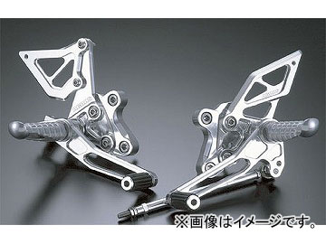 2輪 アグラス バックステップ 4ポジション 品番:P003-8419 スズキ GSX-R1000 2000年~2002年 JAN:4520616756277