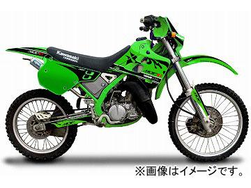 2輪 MDF ファイアーコンプリート 品番:P050-0390 グリーン カワサキ KDX125/SR JAN:4580394145861