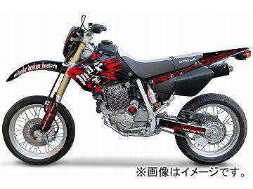 2輪 MDF ブラッディコンプリート 品番:P050-0470 レッド ホンダ XR250 MOTARD 2006年~ JAN:4580394146660