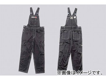 RS-R RS☆Rワークオーバーオール 黒 選べる4サイズ
