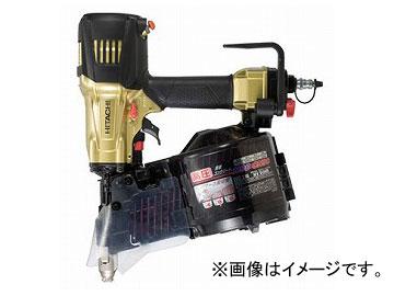 日立工機 高圧ロール釘打機 メタリックゴールド NV90HR