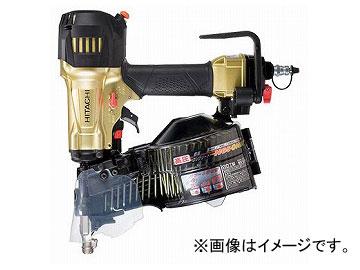 送料無料! 日立工機 高圧ロール釘打機 メタリックゴールド NV65HR