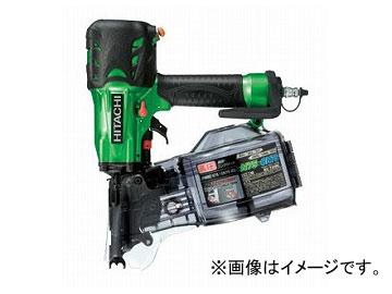 送料無料! 日立工機 高圧ロール釘打機 メタリックグリーン NV75HMC(L)