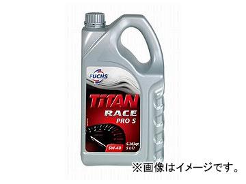 フックス/FUCHS エンジンオイル TITAN RACE PRO S SAE 5W-40 5L 品番:A600888091