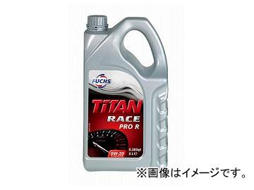 フックス エンジンオイル TITAN RACE PRO R SAE 0W-20 5L A600744779
