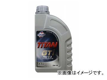 フックス エンジンオイル TITAN GT1 PRO C-3 XTL SAE 5W-30 XTL 205L A601227042