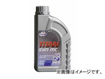 フックス/FUCHS エンジンオイル TITAN SYN MC SAE 10W-40 20L 品番:A78010417 JAN:4989859011602