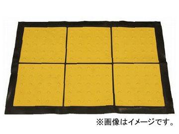 ユニット/UNIT 点字マット(折畳み式) 300角ポイント 品番:391-222