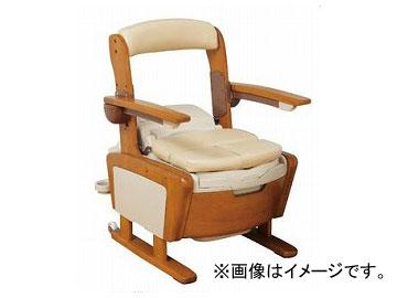 アロン化成 安寿 家具調トイレ AR-SA1 ひじ掛けノーマルタイプ 高さLタイプ 533-810 JAN:4970210839461