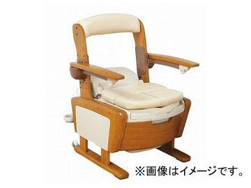 アロン化成 安寿 家具調トイレ AR-SA1 ひじ掛けはねあげタイプ 高さLタイプ 533-814 JAN:4970210839485