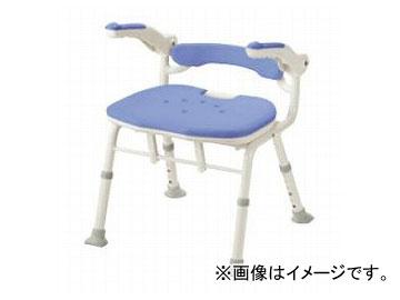 アロン化成 安寿 折りたたみシャワーベンチ ISフィット(骨盤サポートタイプ) ブルー 536-116 JAN:4970210832080