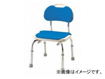 アロン化成 安寿 背付シャワーベンチ CPE-N ブルー 536-300 JAN:4970210439821