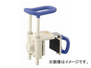 アロン化成 安寿 高さ調節付浴槽手すり UST-200N 幅広浴槽対応タイプ ブルー 536-615 JAN:4970210838228