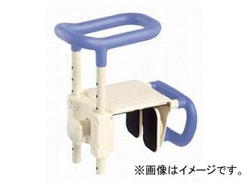 アロン化成 安寿 高さ調節付浴槽手すり UST-165W 幅広浴槽対応タイプ ブルー 536-611 JAN:4970210510940