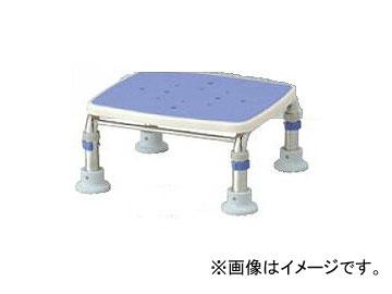 """アロン化成 安寿 ステンレス製浴槽台R """"あしぴた"""" ミニ15-20 ブルー 536-465 JAN:4970210510889"""