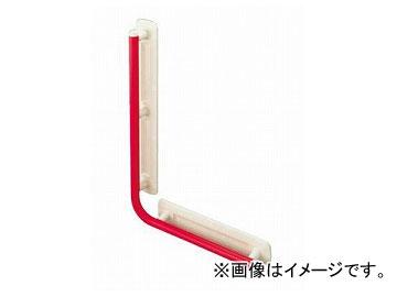 アロン化成 安寿 台座付住宅用手すり(ユニットバス用) UB-L レッド 535-327 JAN:4970210030271