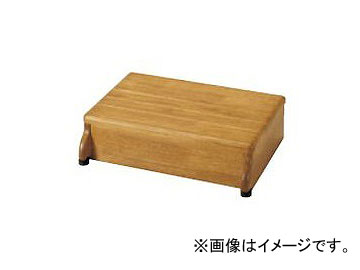 アロン化成 安寿 木製玄関台 45W-30-1段 ライトブラウン 535-546 JAN:4970210397497