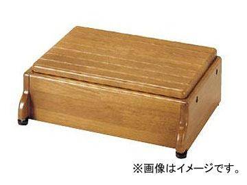 アロン化成 安寿 木製玄関台 S45W-30-1段 ライトブラウン 535-572 JAN:4970210397596