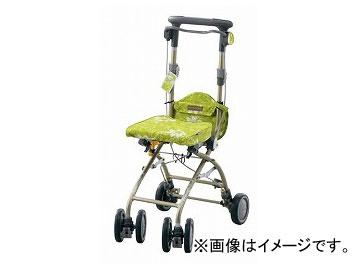 アロン化成 安寿 シルバーカー さんぽっぽ グリーン 532-372 JAN:4970210520178