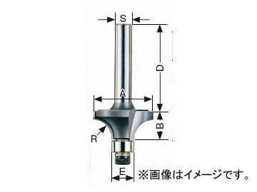 大見工業/OMI コーナービット/飾り面 ボーズ面 ルーター用 B8 JAN:4948572030444