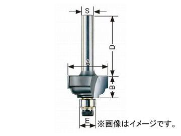大見工業/OMI コーナービット/飾り面 両段サジ面 ルーター用 R4 JAN:4948572030307