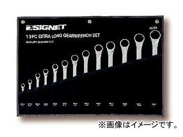 シグネット/SIGNET ロングギアレンチセット(13本組) 品番:38293 JAN:4545301019079