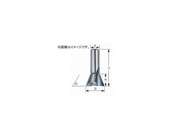 大見工業/OMI 木工ビット 超硬アリギリ ルーター用(12φ) A8D JAN:4948572020582