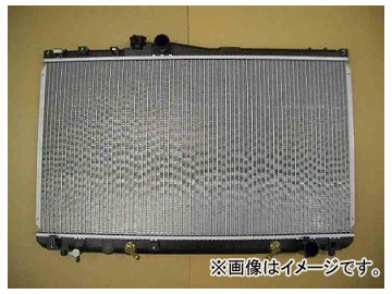 国内優良メーカー ラジエーター 参考純正品番:16400-46240 トヨタ マーククレスタ JZX91 2JZGE AT 1992年10月~1996年09月