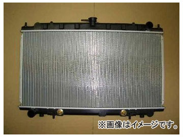 国内優良メーカー ラジエーター 参考純正品番:21460-4J600 ニッサン ブルーバード QU14 QG18DD A/T 1998年04月~2001年08月