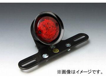 2輪 EASYRIDERS LEDフレアテールライト 汎用 ブラック/赤レンズ 品番:5910-R JAN:4548632175360